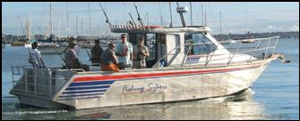 New zealand fishing safaris the boat directory for Fishing charters auckland