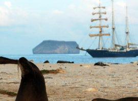 Galapagos sailing